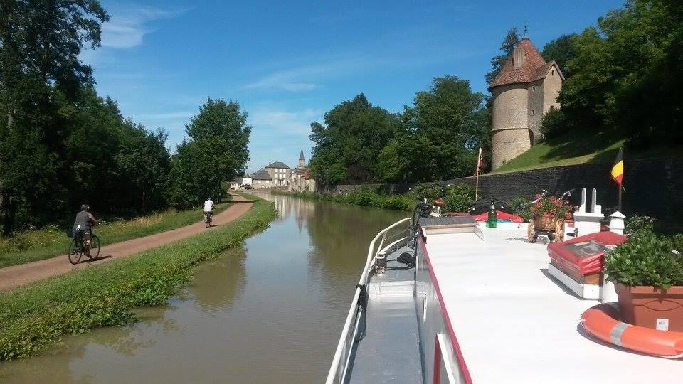 Canal du Nivernais vers Chatillon-en-Bazois